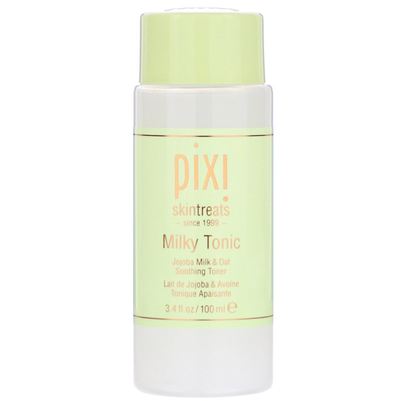 Молочный тоник Pixi Beauty, Skintreats, Milky Tonic, Soothing Toner, 3.4 fl oz (100 ml)
