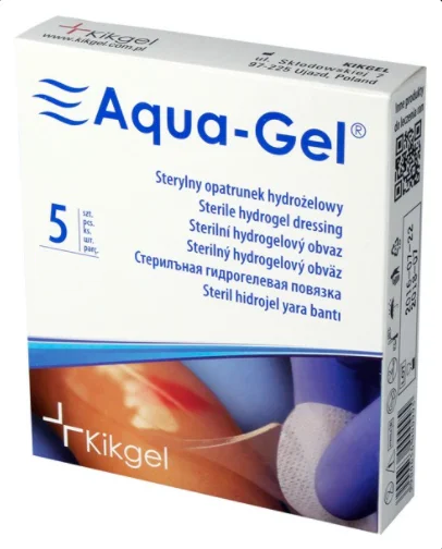 Aqua-Gel (Аква Гель) 10x12см - Гидрогелевая повязка