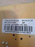 Модуль индикации  Indesit WISN82. 21021361300 Б/У, фото 4