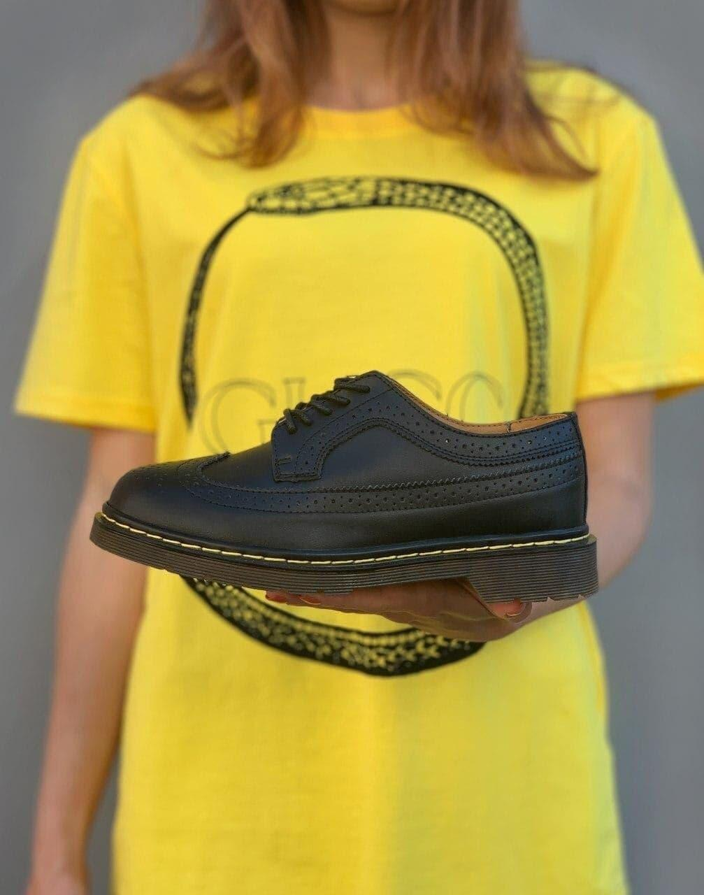 Мужские туфли Dr.Martens 3989 Black
