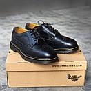 Мужские туфли Dr.Martens 3989 Black, фото 9