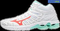 Жіночі волейбольні кросівки Mizuno Wave Voltage Mid (V1GC1965-58)
