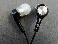 Проводные наушники с микрофоном Philips black