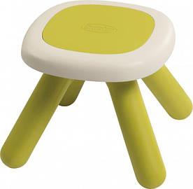 Стульчик без спинки детский Smoby Toys Зеленый (880205)