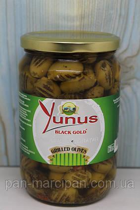 Оливки гриль Yunus Masline la Grayar  650g