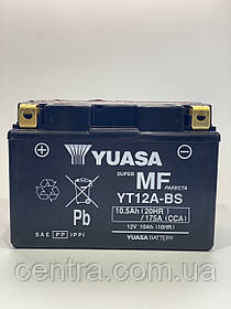 Мото аккумулятор Yuasa YT12A-BS 12V 10,5Ah (сухозаряженный)