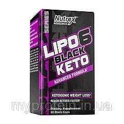 NutrexДля снижения весаLipo 6 Black Keto advanced formula60 black-caps