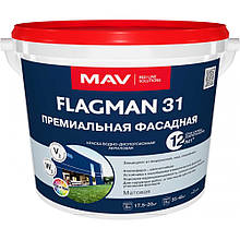 Краска фасадная FLAGMAN премиум, 4,2 кг.