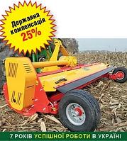 Измельчитель, мульчер пожнивных остатков кукурузы, подсолнечника, веток в садах и лозы виноградников ПРР-280