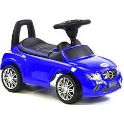 Машина-толокар Joy R-0088 з багажником російською мовою синій