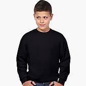 Свитшот для мальчика Без принта (No print) (9509-1094) Черный