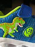 Dinoskulls. Літні LED кросівки з динозавром, фото 5