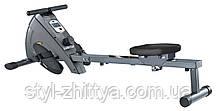 Гребний магнітний тренажер BodyCoach 120 кг, 8 кг