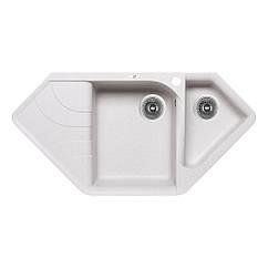 Мойка на кухню гранит LIDZ 1000x500/225 LIDZSTO101000500225 500мм x 1000мм серый полторы чаши 83193