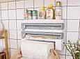 Настінний тримач для паперових рушників, настінна стійка для зберігання рулонного паперу, фото 2