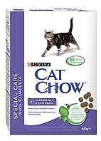 Сухой корм для кошек CAT CHOW HAIRBALL CONTROL 0,4 кг