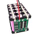 BMS контролер 4S 40А плата заряду захисту 4x Li-ion 18650 з балансиром, фото 2
