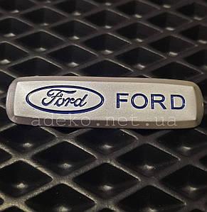 Шильдик для ЕВА килимка в автомобіль з логотипом Ford