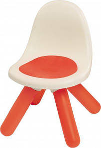 Стульчик Smoby Toys со спинкой детский Красный 880103