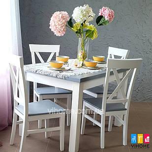Обідній комплект: стіл Європа Ню і стільці Хілтон M-mebel™