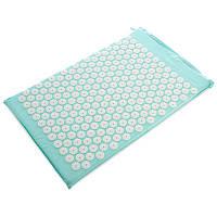 Коврик ортопедический массажный Ипликатор Кузнецова Zelart Acupressure mat 1565 65x40 см Mint