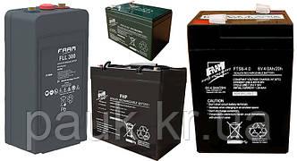 Стаціонарні акумуляторні батареї в асортименті.