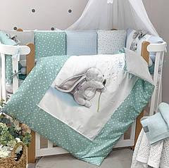 Комплект Кульбаба (для овальної і прямокутної ліжечка) 6 предметів