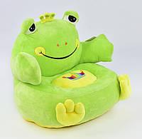 Мягкое детское кресло лягушка детские диваны и мягкие кресла