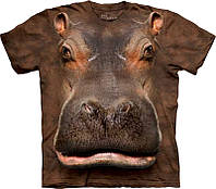 3D футболка The Mountain 103384 Hippo Head
