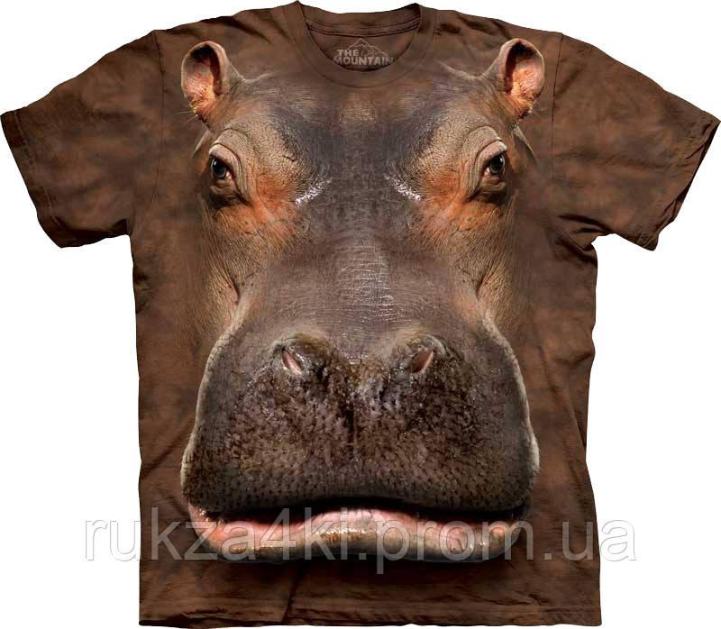 0826a823bbfe1 3D Футболка The Mountain 103384 Hippo Head — в Категории