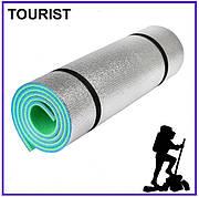 Каремат туристический с фольгой Карпаты 1800х600х10мм