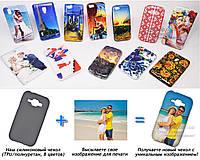 Печать на чехле для Samsung J100H Galaxy J1 (Cиликон/TPU)