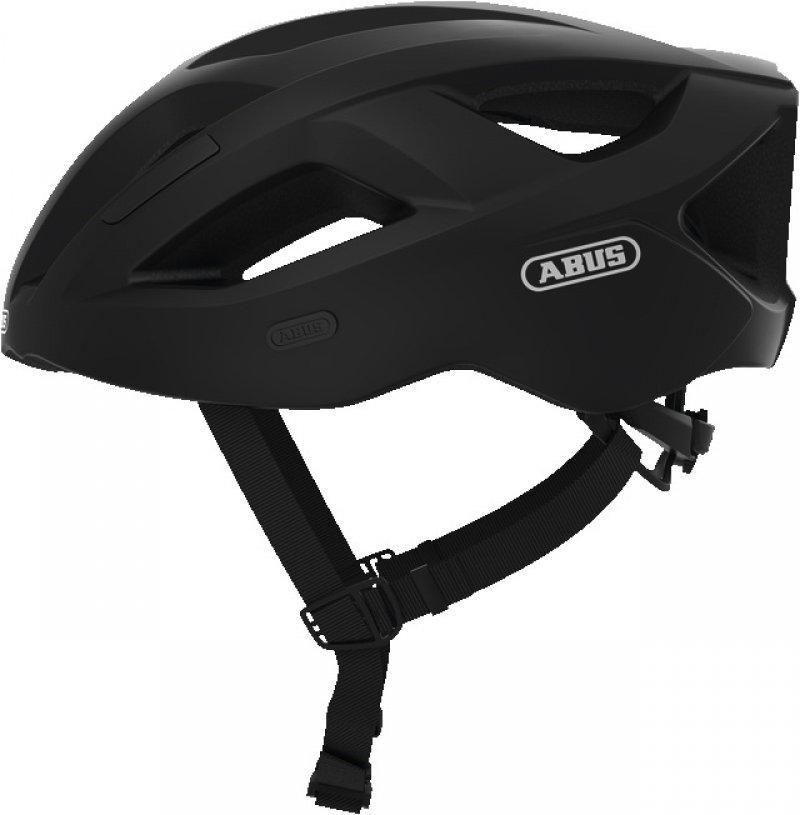 Велошлем спортивный ABUS Aduro 2.1 Velvet Black черный, S (51-55 см)