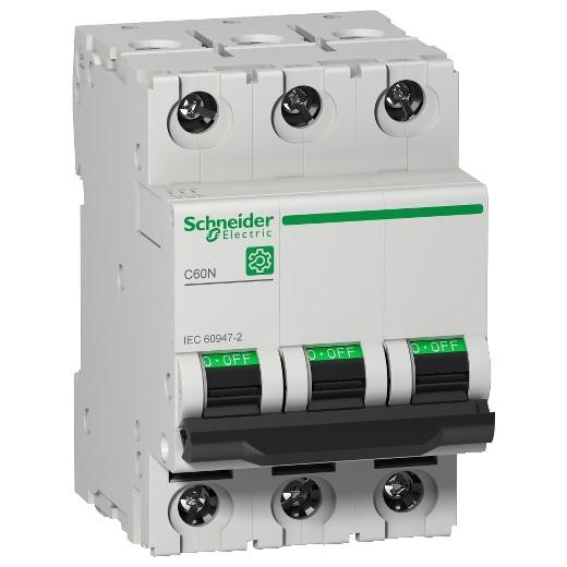 Авт. вимикач Schneider Electric Multi 9 C60N 3p 1A C 6kA 24331