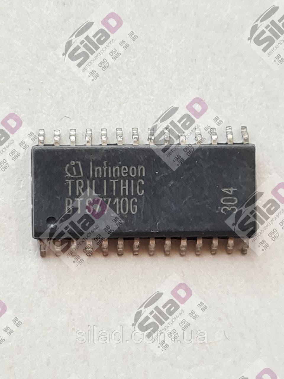 Микросхема BTS7710G Infinieon корпус P-DSO-28