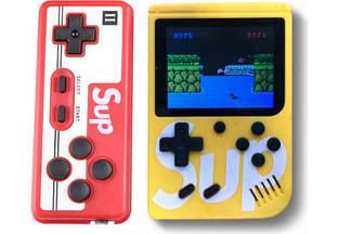 Игровая консоль с джойстиком GAME SUP 6927, желтая