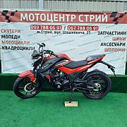 Мотоцикл Spark SP200R-28 (красный)