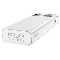 Павербанк Power Bank Hoco J62A 10000 mAh портативний зарядний пристрій для телефону, зовнішній акумулятор, фото 4