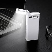 Павербанк Power Bank Hoco J62A 10000 mAh портативний зарядний пристрій для телефону, зовнішній акумулятор, фото 3