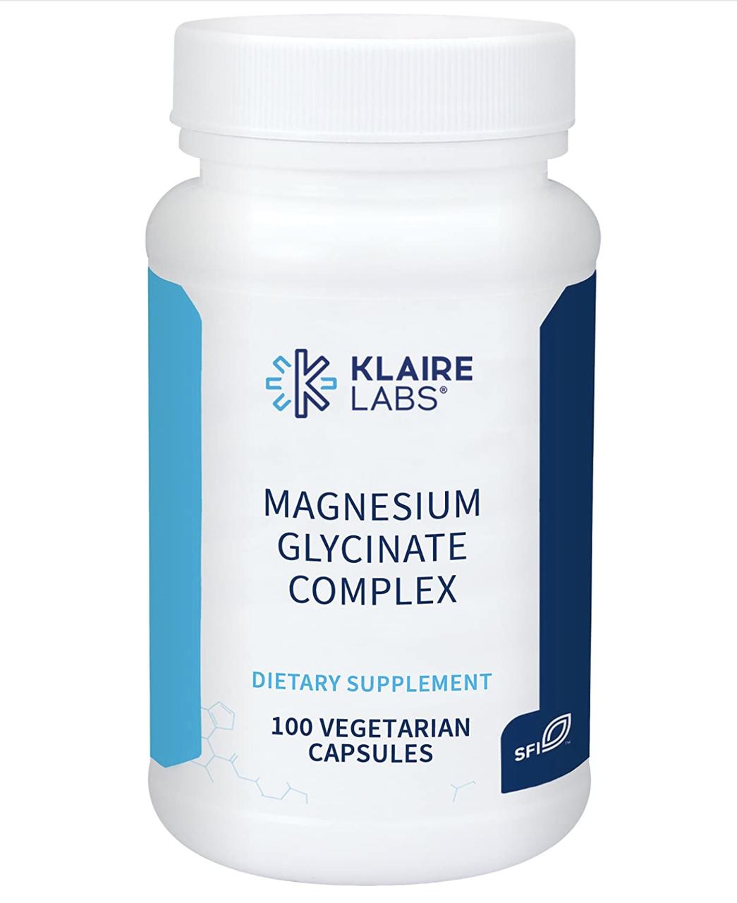 Klaire MAGNESIUM GLYCINATE COMPLEX / Магний глицинат комплекс 100 капс.