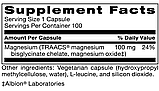 Klaire MAGNESIUM GLYCINATE COMPLEX / Магний глицинат комплекс 100 капс., фото 2