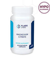 Klaire Magnesium Citrate / Цитрат магния 90 капс