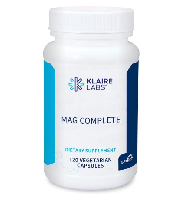 Klaire Mag Complete / Магний комплит 4 вида магния 120 капс