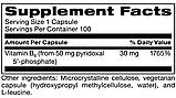KLAIRE Pyridoxal 5'-Phosphate/ Витамин Б6 Пиридоксаль-5-фосфат 100 капс, фото 2