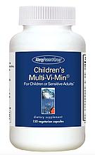 Allergy Research Children's Multi-Vi-Min / Детские мультивитамины 150 капсул