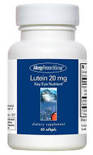 Allergy Research Lutein / Лютеин 20 мг 60 капсул