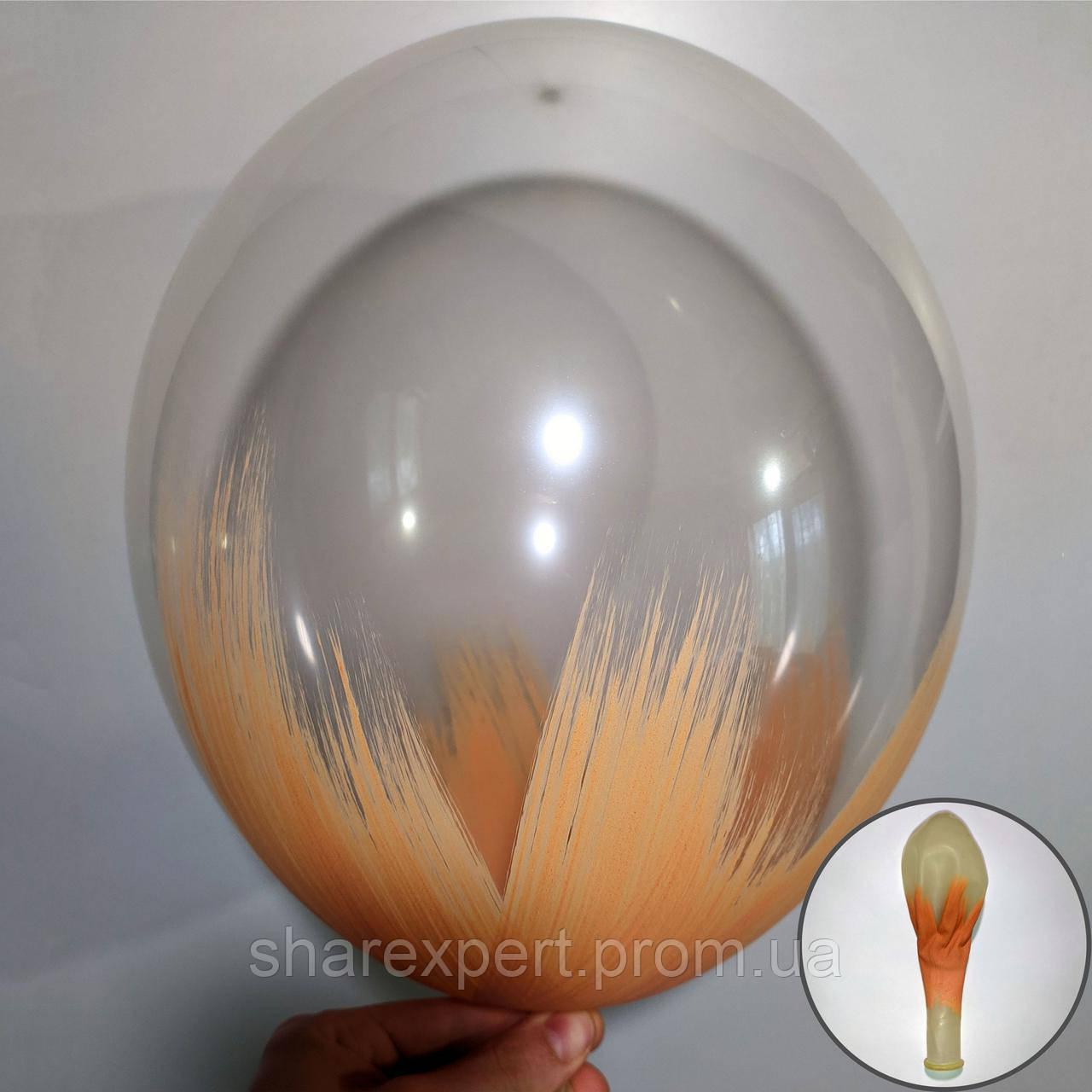 Бежевий на Прозорих латексних кульках