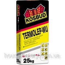 Клей універсальний для мінераловатних плит, Kosbud TERMOLEP-WU, мішок 25 кг