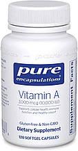 Pure Vitamin A / Витамин А 10.000 МЕ 120капс