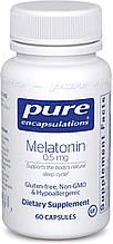Мелатонин  Melatonin Pure  0,5 мг 60 капсул